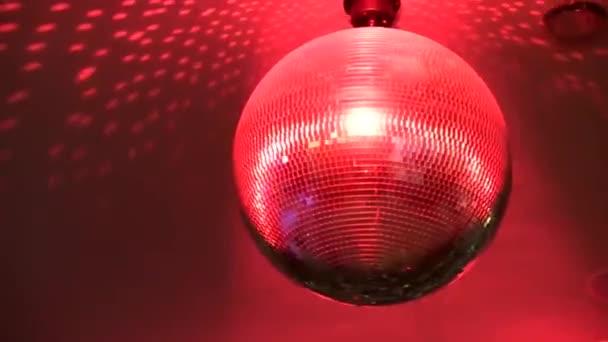 Ohromující červená světlé barevné zrcadlo funky disco míč párty noční klub stropní dekorace lampa osvětlení rotující