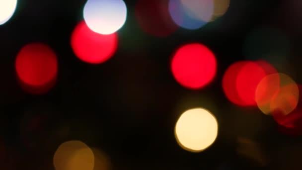 Csodálatos színes homályos disszidált villogó gyors szikrázó égő lassú fényes fény megvilágítás fekete háttér