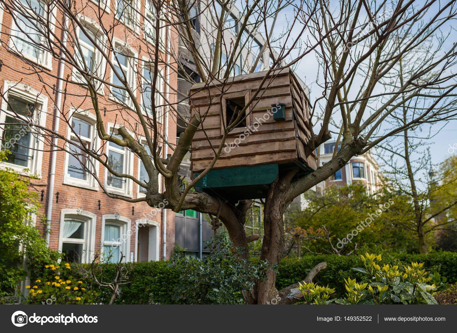 Picture of: Children Tree House In Amsterdam Stock Photo C Sashk0 149352522