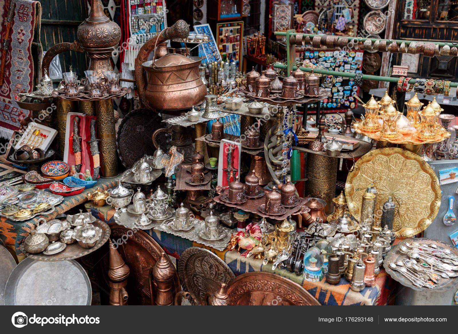 Vintage Souvenirs Sarajevo Basar Altmarkt — Stockfoto © sashk0 ...