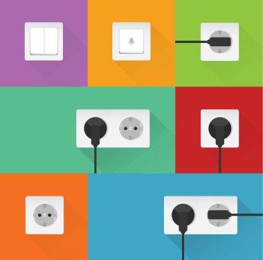 electrical plug set