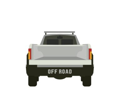 pickup truck with off road inscription