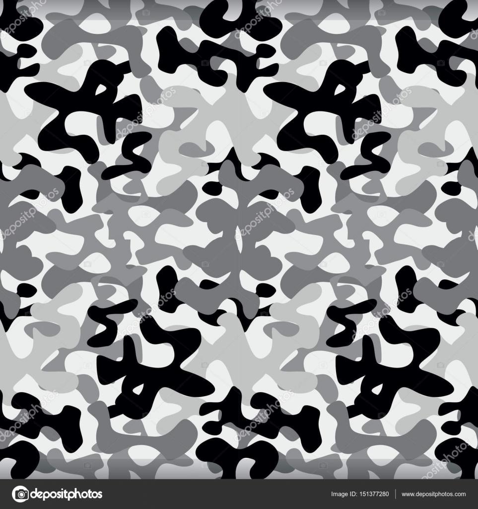 patrón de camuflaje militar — Archivo Imágenes Vectoriales © Sky ...