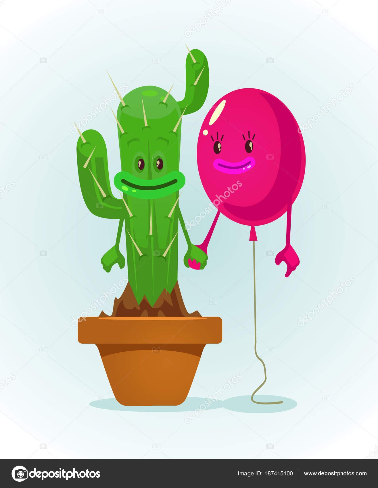 Dibujos Mejores Amigos Globo Cactus Personajes Mejores Amigos