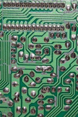 Electronic circuit close up