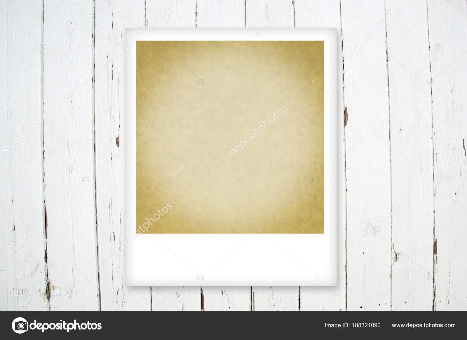 vintage polaroid photo frame template stock photo bygimmybygimmy