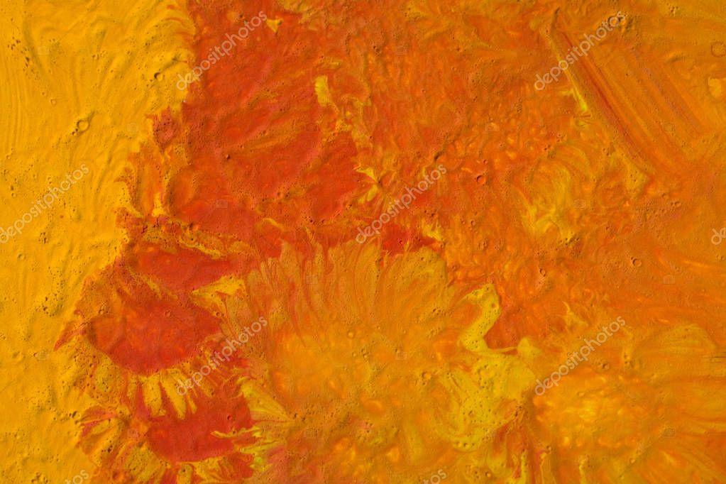 Orange Paint Texture Background Stock Photo C Nemetse 129195444