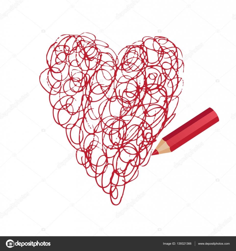 Drawings Heart In Pencil Pencil Drawing Beautiful Heart