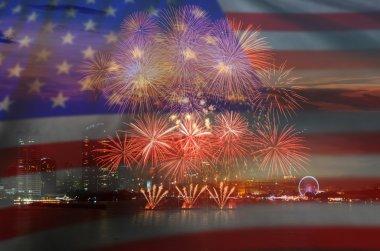 Beautiful Multicolor Fireworks