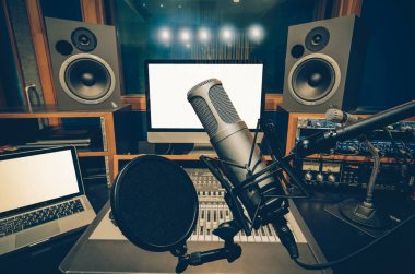 Professional condenser studio microphone o