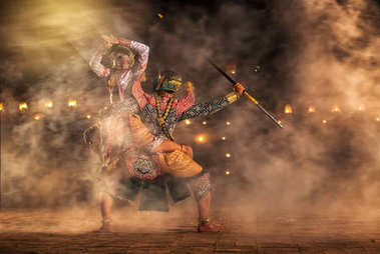 pantomime performances action