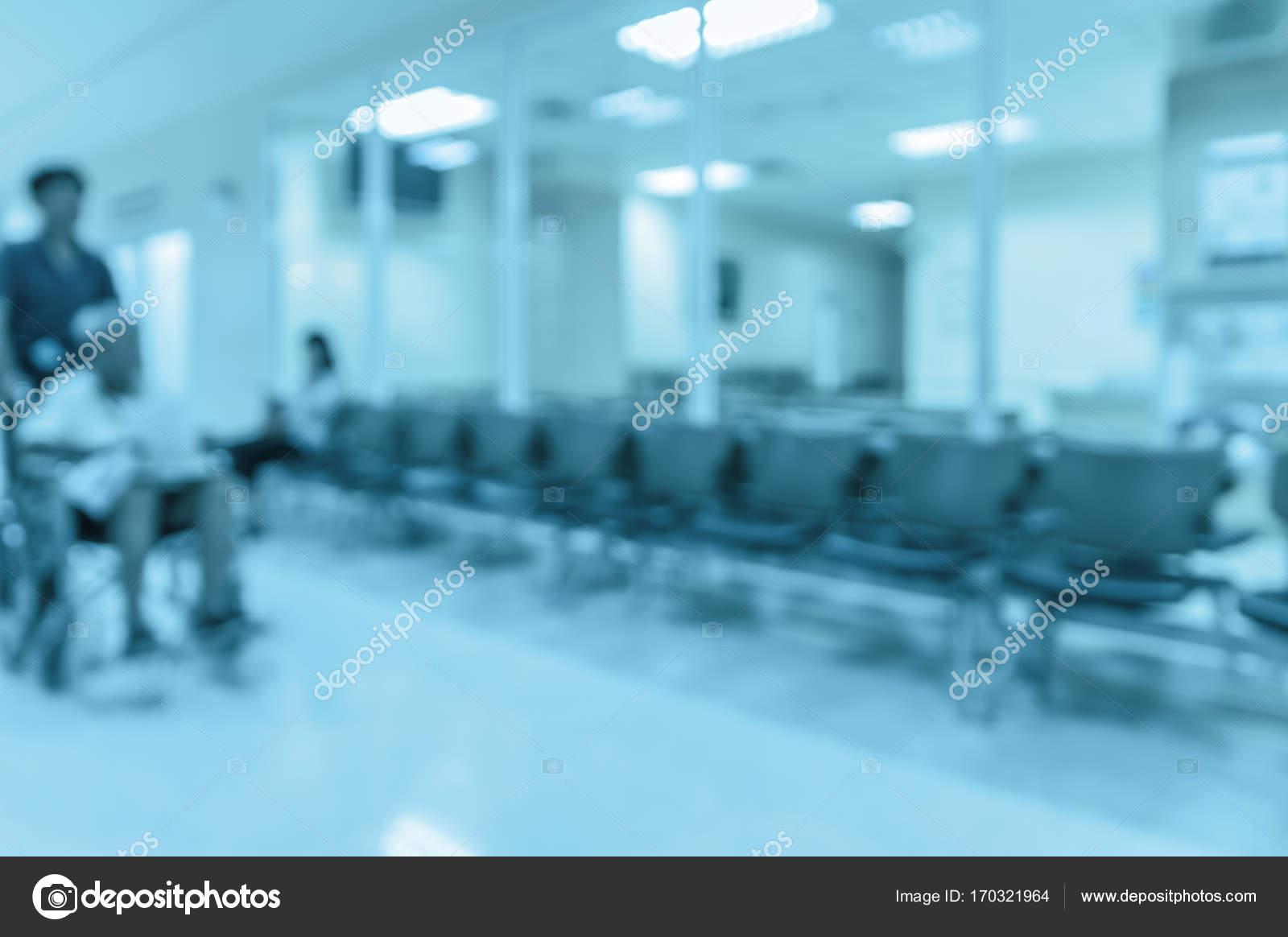 Ziekenhuis Achtergrond Wazig Stockfoto Tzido 170321964