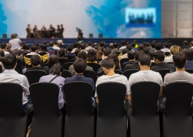 Audience in the conference hall