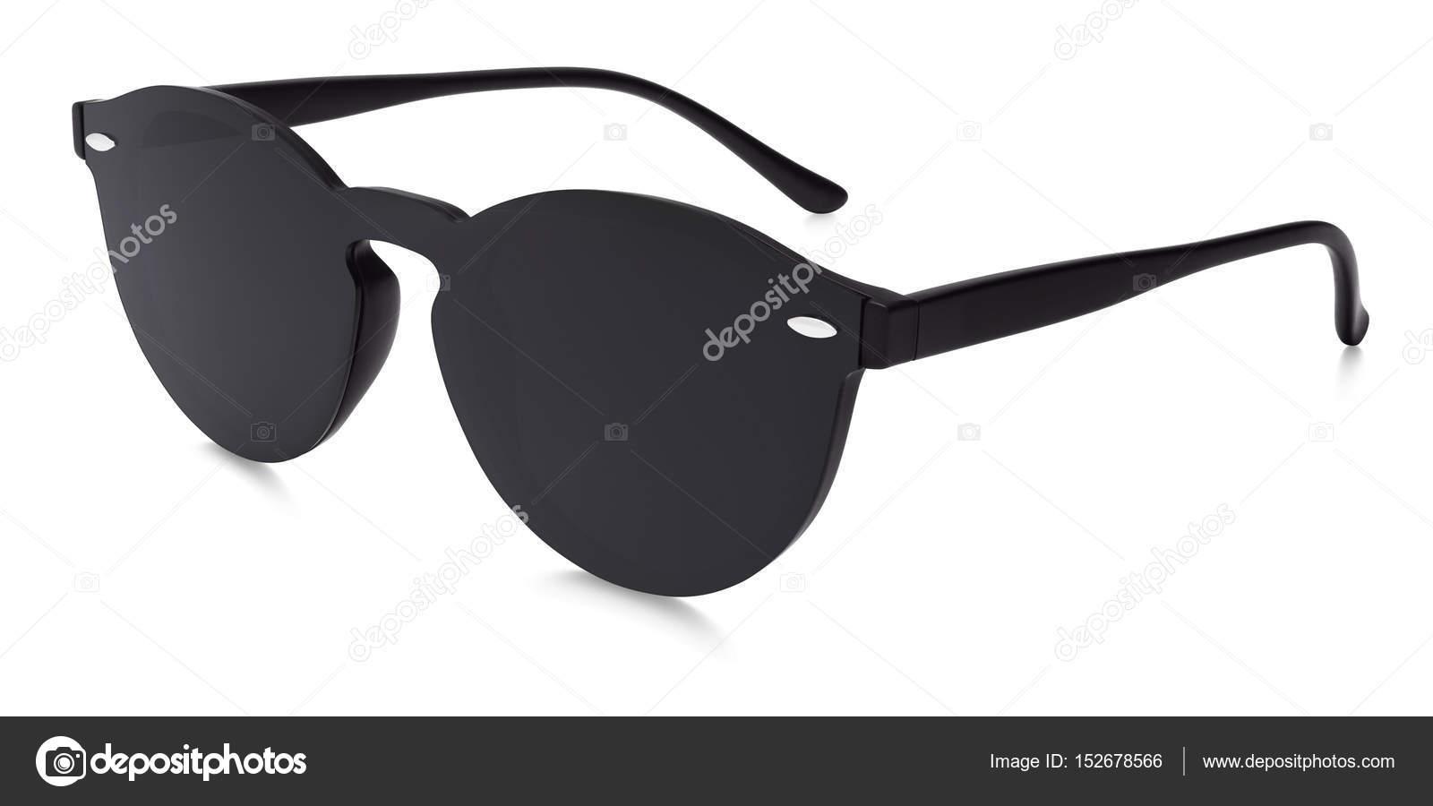 2132ad2654 Γυαλιά ηλίου μαύρο καθρέφτη φακούς που απομονώνονται σε λευκό φόντο– εικόνα  αρχείου