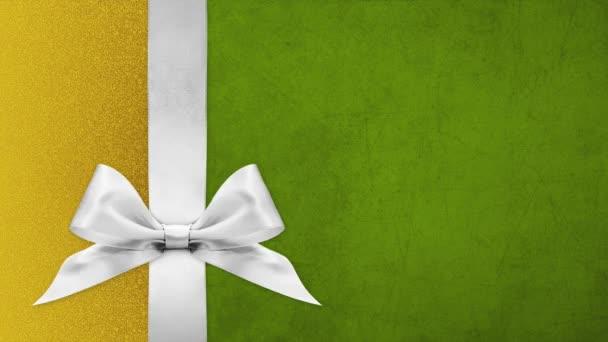 boldog karácsonyi ajándék kártya, szalag íjak változtatni színek elszigetelt karácsonyi fényes háttér sablon másolási hely