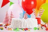 Photo Birthday Cake And Decoration