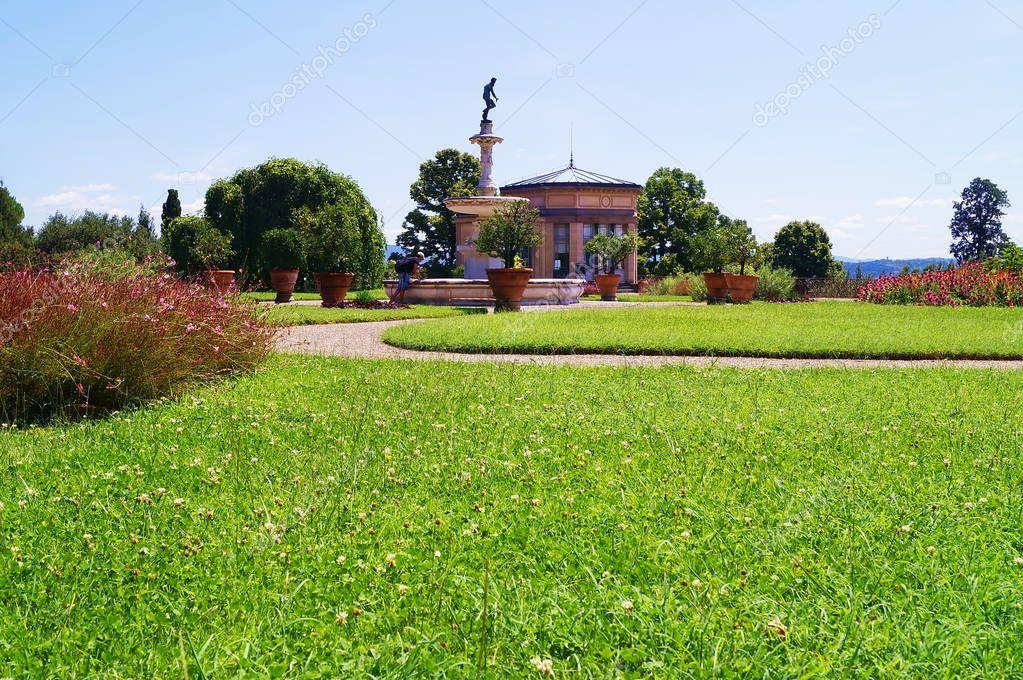 Park of Villa Petraia