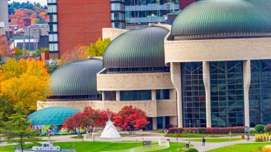 The Canadian Museum of History's Domed Roofs