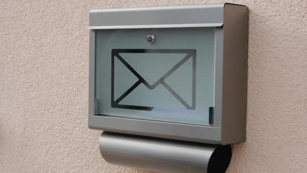 Mailbox, Letter, Human, Hand, Wall, Mail, Gray, Message, House