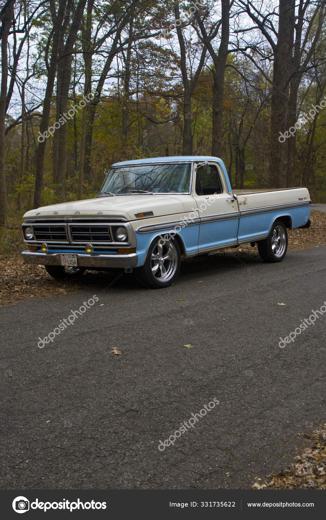 Classic Pickup Truck Stock Editorial Photo C Wirestock 331735622