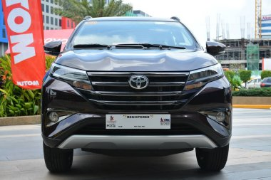 PASAY, PH - MAY 26 - Toyota rush at Toyota carfest on May 26, 2019 in Pasay, Philippines.