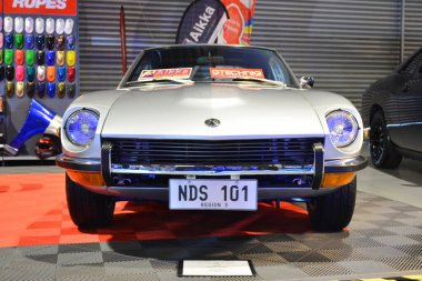 PASAY, PH - MAY 25 - Datsun 240z at 25th Trans Sport Show on May 25, 2019 in Pasay, Philippines.