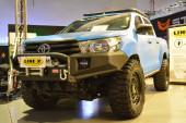 PASAY, PH - NOV 30 - Toyota hilux pick up at Manila Auto Salon car show on November 30, 2018 a Pasay, Fülöp-szigetek.