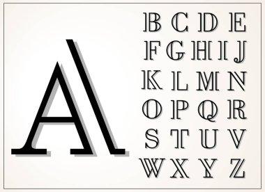 light and elegant display font
