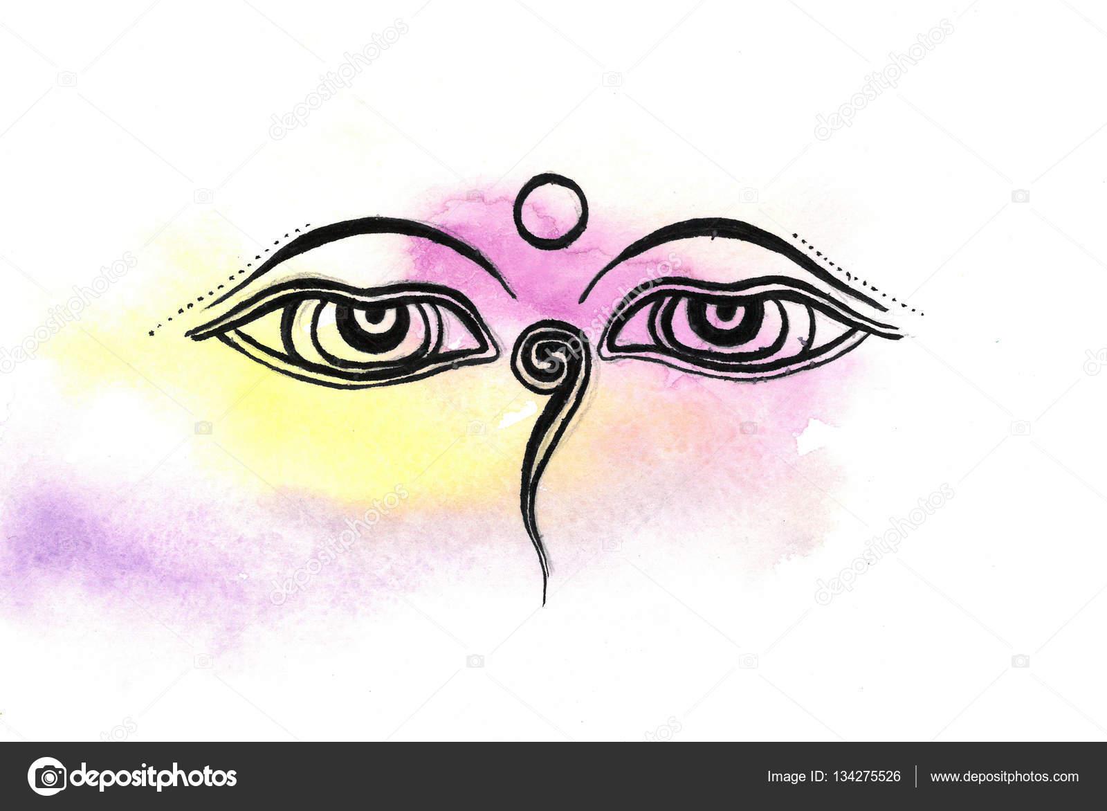 Wisdom eyes of buddha bodhnath temple eyes stock photo wisdom eyes of buddha bodhnath temple eyes stock photo biocorpaavc Images
