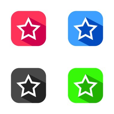 Star related glyph icon, Rank symbol. Favorite sign