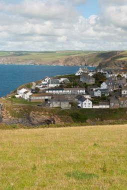 overview in Port Isaac