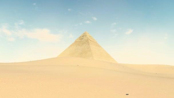 Great Pyramid of Khafre at Giza, Egypt 4K