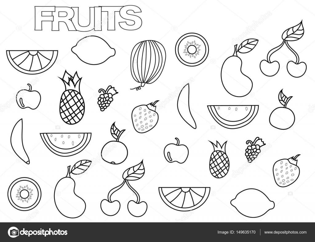 Buradan Indirin Meyve Sebze Boyama Sayfalari En Iyi Boyama