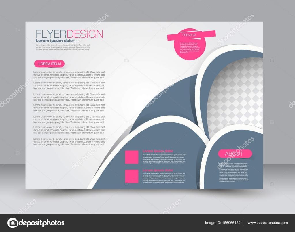 Magazin-Cover-Vorlage mit Design-Querformat — Stockvektor © Milana88 ...