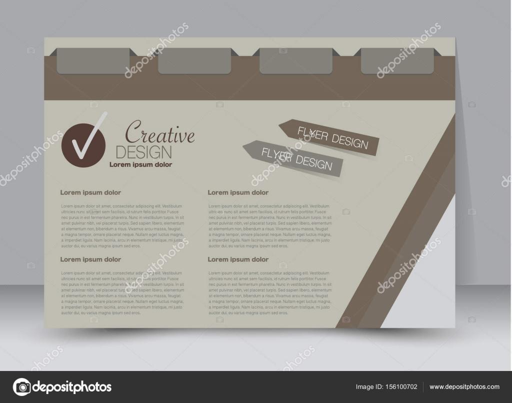 billboard template design landscape orientation — Stock Vector ...