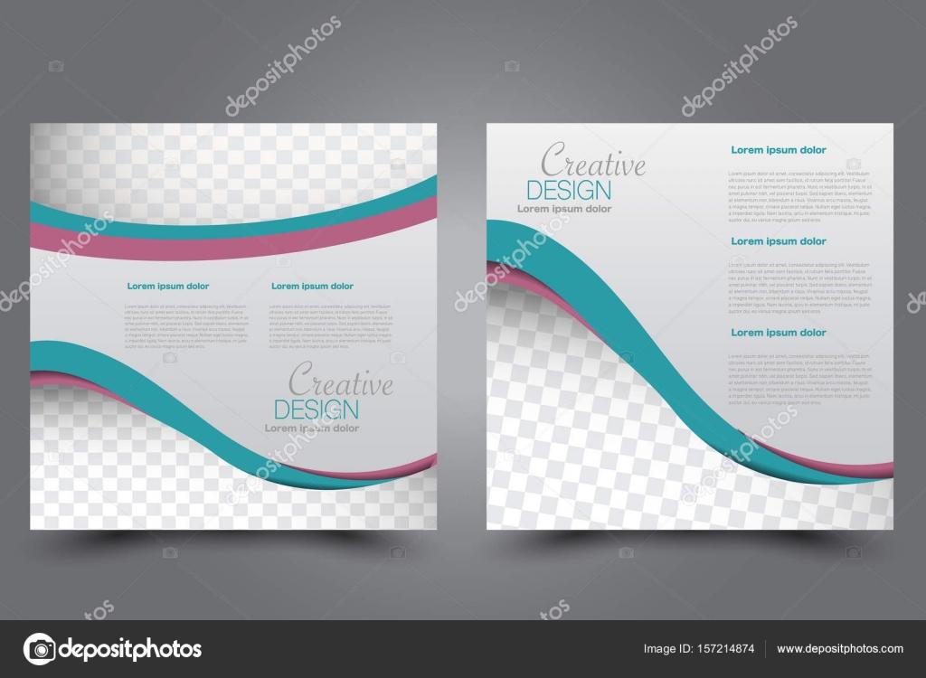 square flyer template stock vector milana88 157214874