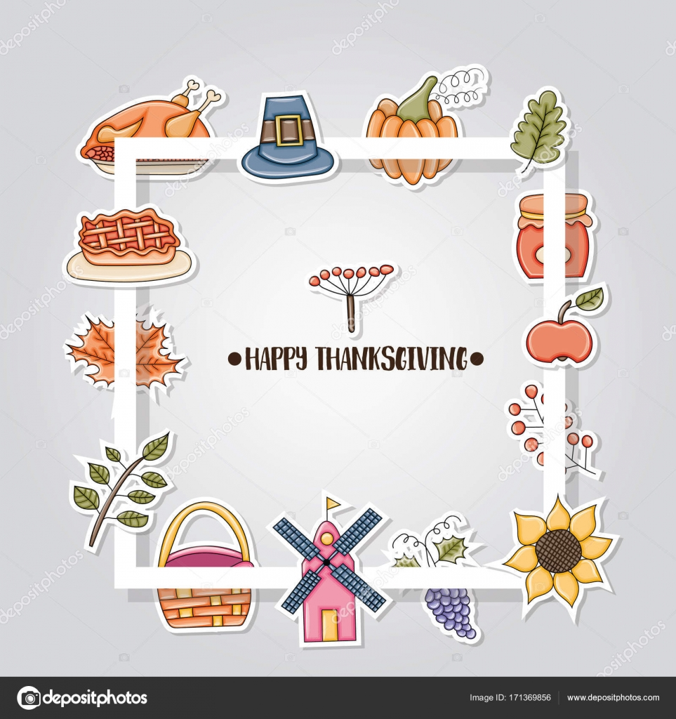 Beste Thanksgiving Druckbare Vorlagen Zeitgenössisch ...