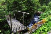 Beskydská krajina, nádherné hory na severu Čech, Česká republika