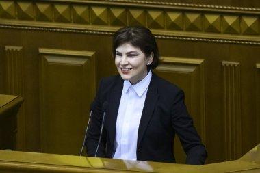 Irina Venediktova the Prosecutor General of Ukraine.