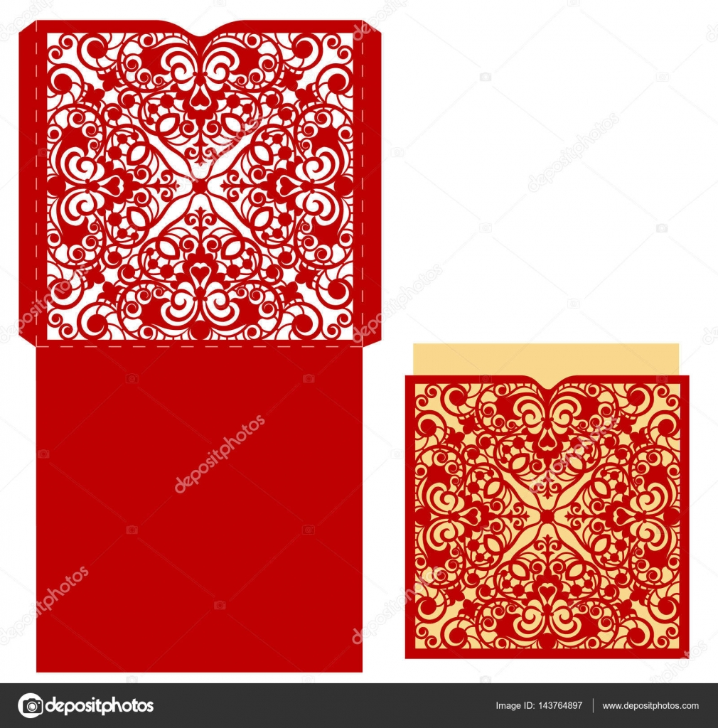 Template For Greeting Card Stock Vector Tatiana54 143764897