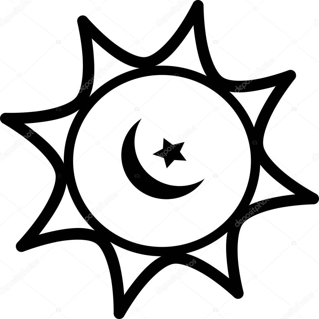ramadan icon islamic moon and star dome on the white background isolated vector illustration ramadan icons arabian icon arabian vector icons set islamic star mosque happy ramadan and islam symbol premium ramadan icon islamic moon and star dome