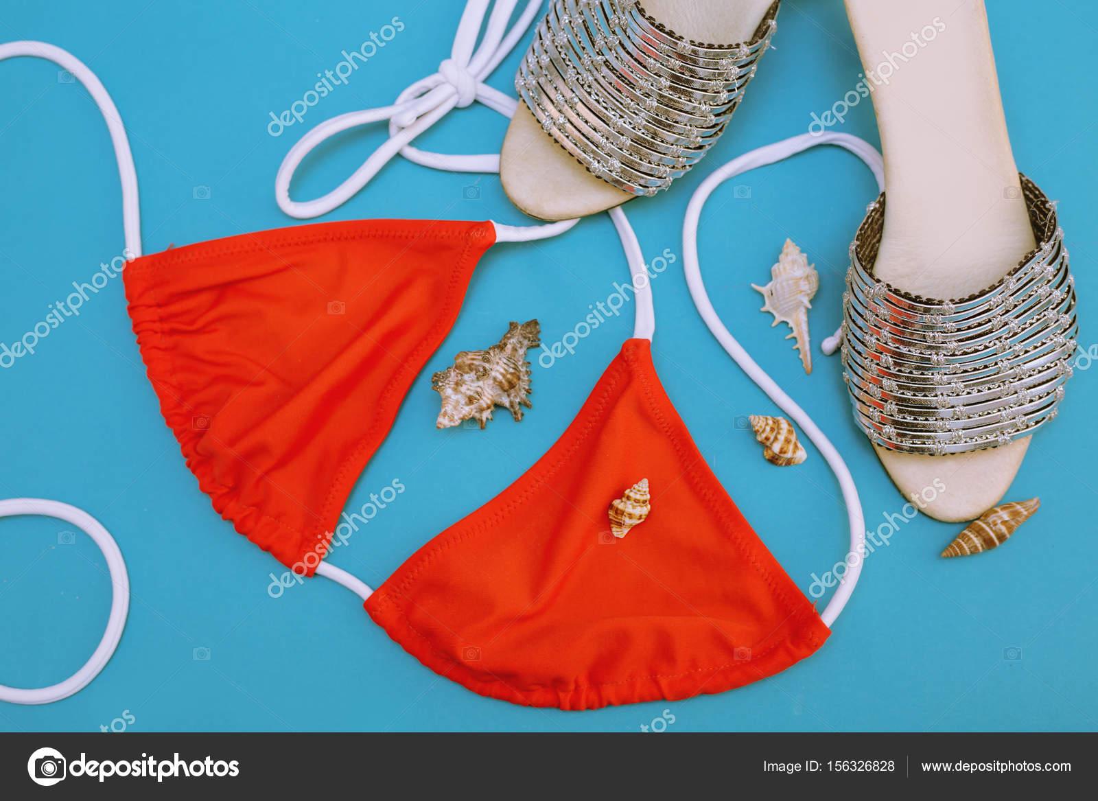 Costume Da Bagno Conchiglia : Gradiente bikin forma a conchiglia donne costumi da bagno bikini