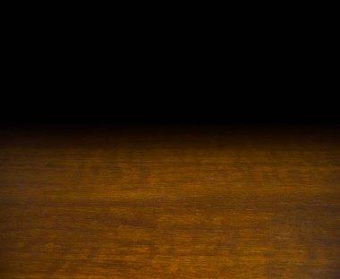 wooden table mock up platform for interior decoration design