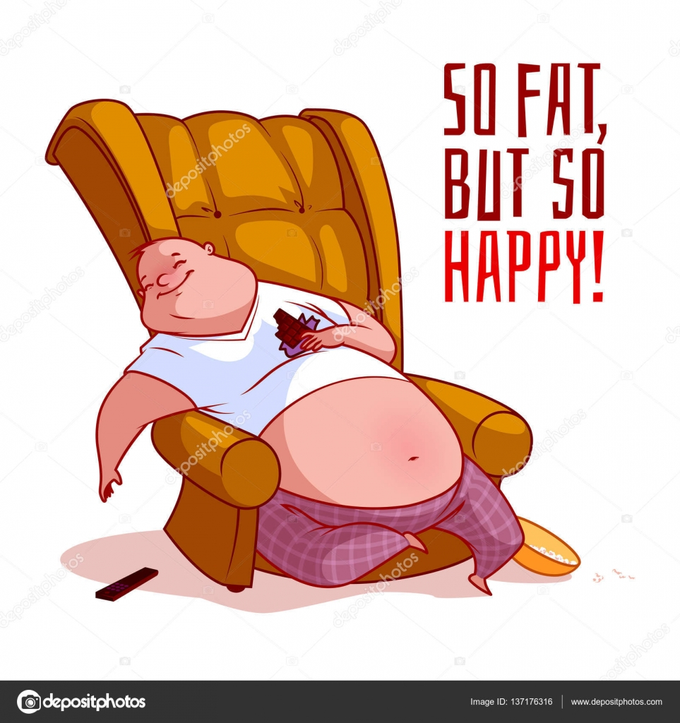 Clipart Fat Man 30