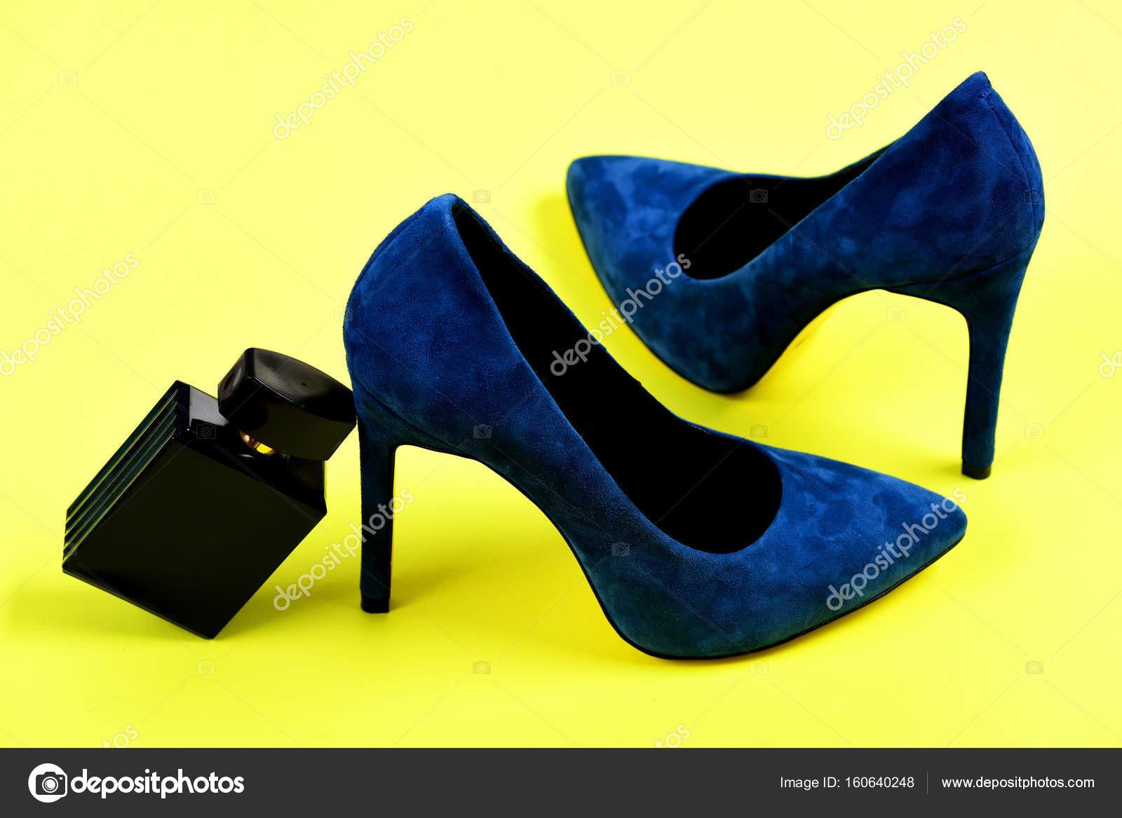 La De — Azul En Oscuro Color Botella Perfume Fotos Zapatos Con lJcK1TF