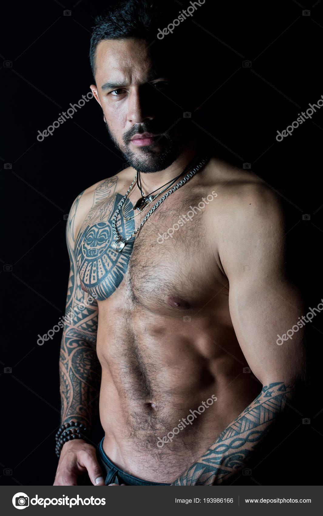 Tattoomodel Mann