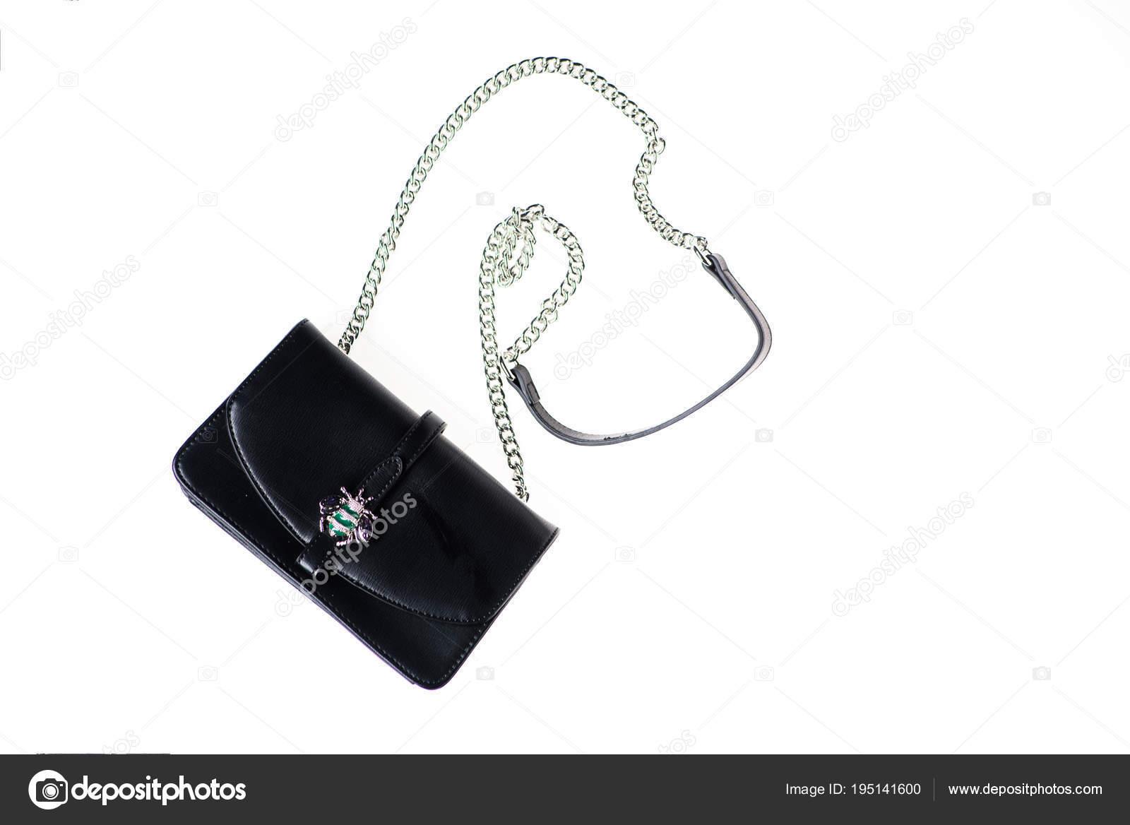 26215d4c8 Bolsa, saco ou bolsa em fundo branco. Conceito de acessórios de moda. Bolsa