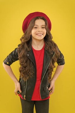Rock and roll is way of life. Outfit ideas every stylish girl should try. Girl curly hair wear leather jacket. Little rock star concept. Brutal style tender but confident girl. Rock style suits her