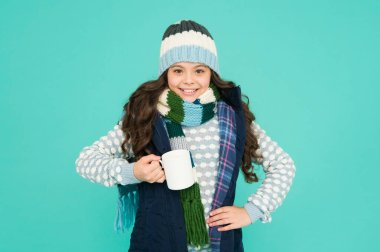 made for cold weather. more ideas for warming. happy girl hipster. kid winter fashion. feeling good any weather. Stay active this season. kid warm knitwear. child hot tea cup. Have warming drink