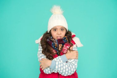 Child care. Stay warm and stylish. Cold winter days. Vacation time. Stay active during season. Kid wear knitted warm clothes. Winter vibes. Youth street fashion. Winter fun. Feeling good any weather